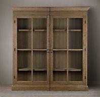Grand French Casement Cabinet | Wood Shelving & Cabinets | Restoration Hardware