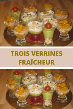 Elegant, the aperitif, starter and dessert recipes served in verrines are ideal if you receive! You can more often … - Moyiki Sites Mango Pudding, Oreo Pudding, Instant Pudding, Rumchata Recipes, Brunch, Snacks Für Party, World Recipes, Dessert Recipes, Desserts