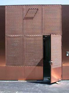 Expanded metal mesh architectural projects