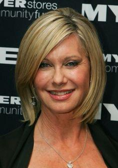 Olivia Newton John Short Hairstyle For Women Over 50s 60s