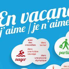 Poster vocabulaire A1 : En vacances
