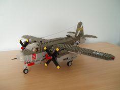 MOC: 'Slow Starter', a Marauder bomber Lego Plane, Lego Kits, Lego Mecha, Lego Military, Lego Worlds, Lego Projects, Physicist, Custom Lego, The Marauders