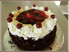 A beautiful Black Forest Cake Recipe that's worth sharing with your world.