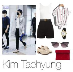 """""""TaeTae style"""" by timiwg on Polyvore featuring Dansko, Sans Souci and Gucci"""