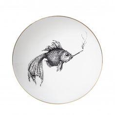 Tallrik –Swirley smokey fish