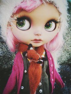 Blythe Doll big eyes