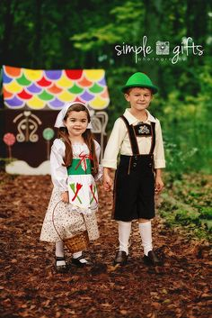 Hansel and Gretel, my kids halloween costumes