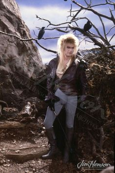 David Bowie in Labyrinth. For some reason he is just so damn sexy in this movie.