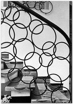 1967 ULTRAMODERN & TRADITIONAL ORNAMENTAL METALWORK fences gates mid century mod
