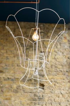 Artisan | London lamp shade frame pendant