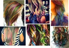 """""""Colored Hair"""" by eva-daniela on Polyvore"""