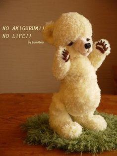 シロクマのあみぐるみ AMIGURUMI of polar bear