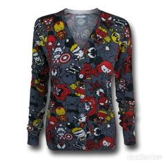 Who's buying this for me at Christmas??? SOO cute! (And has Deadpool and Hawkeye on it.)