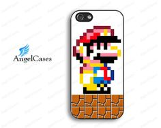 mosaic mario iphone 5 case cute iphone 4 case by Angelcases, $7.99
