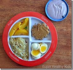 Toddler food portion sizes