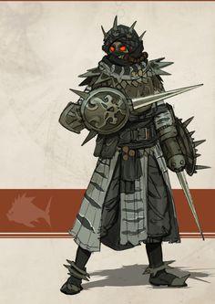 Fantasy Character Design, Character Design Inspiration, Character Concept, Character Art, Monster Concept Art, Fantasy Monster, Monster Art, Fantasy Armor, Dark Fantasy Art