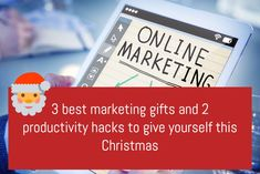 Marketing resources to help you increase your business. Look at some clever hacks to make you more productive and effective in all your marketing efforts.
