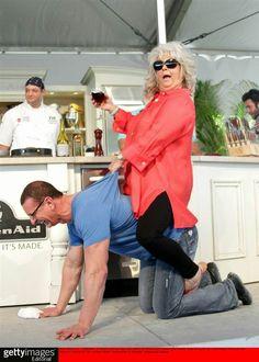 Robert Irvine and Paula Deen. Best picture ever.