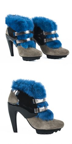 United Nude Eros Teddy Boot  Sample 109,90 € Charity Heels