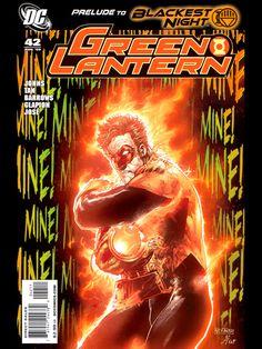 Mind blowing art of characters from comics, movies/tv, & video games! Green Lantern Comics, Black Lantern, Blue Lantern Corps, Orange Lanterns, Green Lantern Hal Jordan, New Earth, Newest Jordans, Comic Covers, Dc Universe