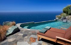 No kids are allowed at the Post Ranch Inn, a rustic-luxe clifftop hotel made of reclaimed wood, glass and stone. Upon arrival in Big Sur, CA, your ride is valeted, a glass of wine appears- and you're off to an infinity pool, which has sweeping views of the Pacific.
