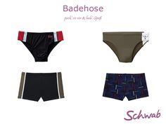 Die #Badehose in vielen verschiedenen Varianten