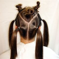 150+ Re-pins :|: Balayage sectioning. Click here to view a larger version.