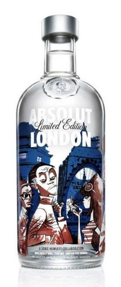 Absolut Vodka LONDON