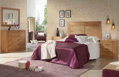 Dormitorio matrimonio con comoda 512€