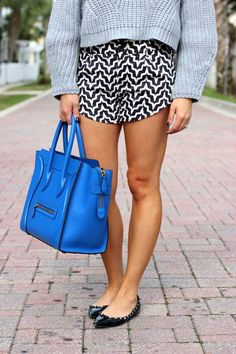 Zig Zag Shorts - For