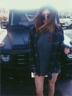 Kylie Jenner grunge style
