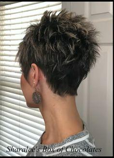 Short Sassy Haircuts, Pixie Haircut For Thick Hair, Short Choppy Hair, Funky Short Hair, Super Short Hair, Short Grey Hair, Short Hair With Layers, Cute Hairstyles For Short Hair, Short Hair Cuts For Women