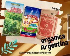 Drei argentinische Yerba Mate organica im 3-er Pack. Yerba Mate, Snack Recipes, Snacks, Pop Tarts, Food, Argentina, Snack Mix Recipes, Appetizer Recipes, Appetizers