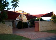 Shade Sail Modern Outdoor Furniture Design Idea by All Shade Solutions - Iroonie.