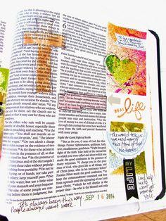 Bible Journaling : 1Timothy 6:6-8 - To Be Content | Bonita Rose