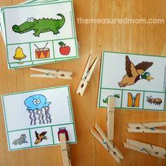 letter sound clip cards 5