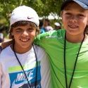 The Santa Clara Nike Tennis Camp is a summer camp for young players to improve their tennis game, work hard, make new friends and have a lot of fun. Check out the website for more information. http://www.ussportscamps.com/tennis/nike/santa-clara-university-nike-tennis-camp/
