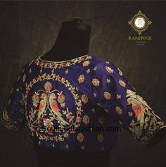 Saree Blouse Neck Designs, Fancy Blouse Designs, Bridal Blouse Designs, Blouse Patterns, Hand Work Blouse Design, 3d Max, Churidar, Kurti, Lehenga
