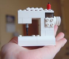 LOVE IT! Lego Sewing Machine