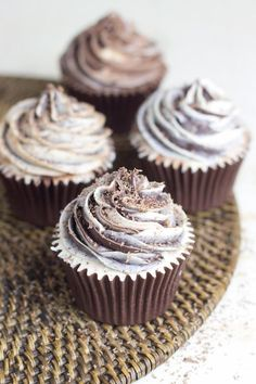 Sweet Cupcakes, Cupcake Cookies, Bakery Recipes, Cupcake Recipes, Cake Pops, Oreo, Muffins, Brunch, Cupcake Queen