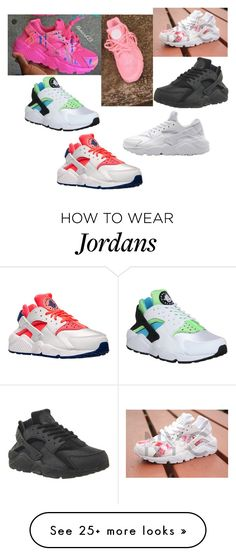 """""""Best of Huarache's"""" by thefemaletupac on Polyvore featuring NIKE, women's clothing, women, female, woman, misses and juniors"""