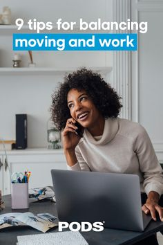 Don't let #Moving become your full-time job. Plan ahead for balancing remote work and moving with these tips. #ContainingTheChaos #WorkFromHome #RemoteWork Moving Tips, Remote, How To Plan, Shit Happens, Moving Hacks, Pilot