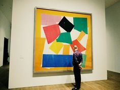 The money shot! (The Snail) First look at Henri Matisse - Cut-Outs at Tate Modern. Click to read all about it