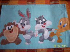 Poszewki na poduszki 40x60 bawe�  Disney niebieski