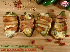 Involtini di jalapenos con mozzarella e bacon #foodporn #thanksgiving #appetizer