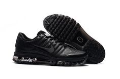 Nike Air Max Men 2017 All Black Leather