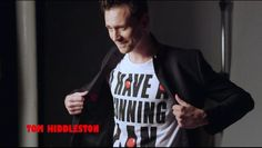 Tom Hiddleston supports the Red Nose Day in support for Africa.
