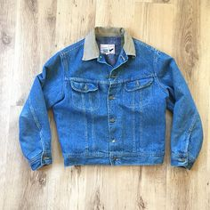80s Canyon Creek Storm Rider Jacket Lined Denim Jacket