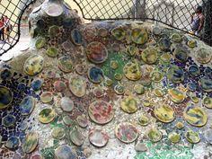 Gorgeous Gaudi mosaic