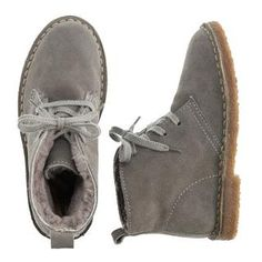 Kids' shearling MacAlister boots - boots - Boy's shoes - J.Crew